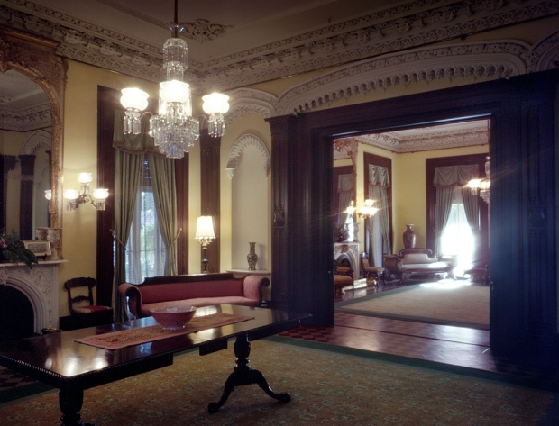 The drawing room at the Green-Meldrim House Sherman's HQ in Savannah in 1864