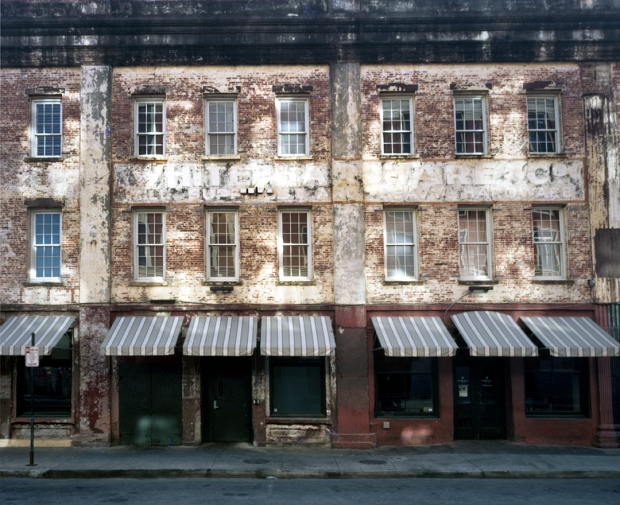 Old warehouses near the Savannah River 2014