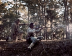 Confederate reenactor defends Fort McAllister