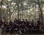 Reenactors in the woods of Georgia 2014