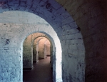 Interior of Fort Jackson