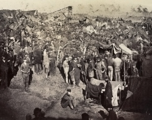 Union POWs at Andersonville