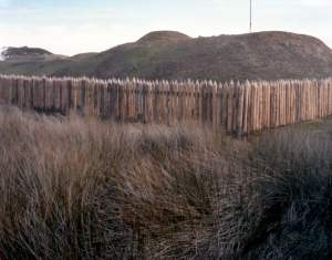 Surrounded by sea and marsh Fort Fisher at Wilmington, NC
