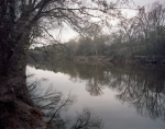 Cape Fear River at Fayetteville, NC. Sherman met a Union steamboat here and received the news about the Fall of Wilmington