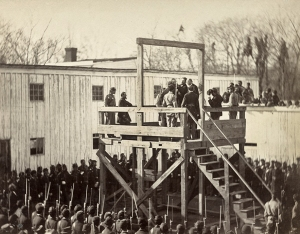 The execution of Capt. Henry Wirz CSA - Nov. 1865