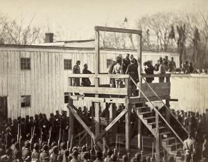 The execution of Capt. Henry Wirz CSA - Nov. 1865