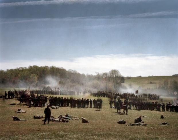 Union troops surround the Confederate forces at Appomattox in 2015