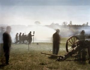Confederate cannoneers attempt a breakout at Appomattox, Va 2015