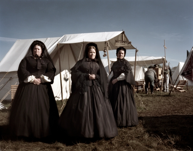 War Widows of the Dixie Rose Society at Appomattox 2015