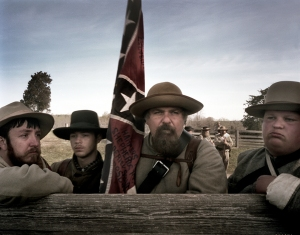 Reenators descendants of the 28th North Carolina at Appomattox, Va 2015