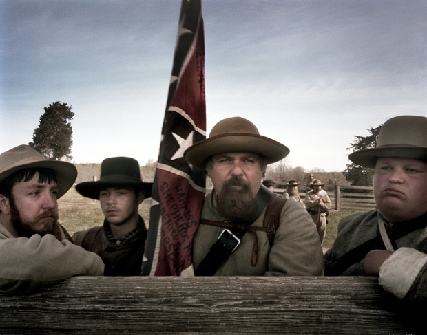 Confederate reenators at Appomattox, Va 2015