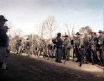 Confederate reenactors during the Stacking of Arms at Appomattox 2015