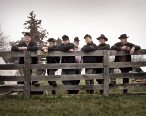 Union reenactors at Appomattox, Va