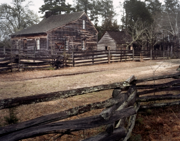 The country cabin at Bennett Place where Joe Johnston surrendered the Confederate Army to WT Sherman