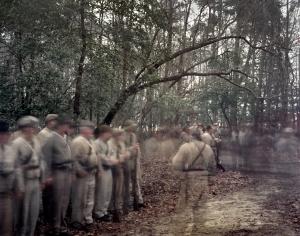 Confederate reenactors at Bentonville, NC 2015