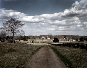 The old Lynchburg Stage Road leads to Appomattox Court House and the end of the war in Virginia - 2015