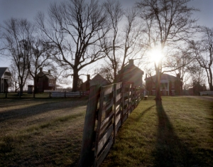 Sunrise at Appomattox Court House, Virginia 2015
