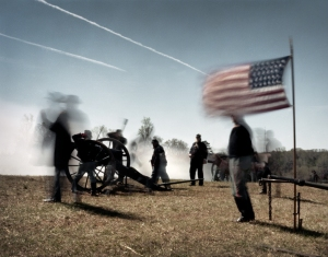 Union gunners at Appomattox, Va 2015