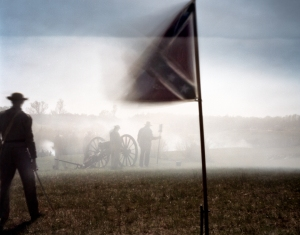 Confederate gunners repel attacks during the Last Campaign in Virginia 2015