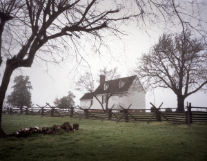 The 18th century Hillsman House served as a field hospital during the Battle of Sailor's Creek