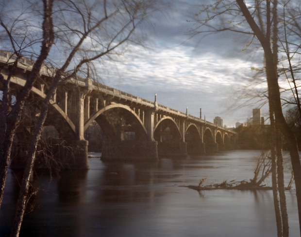 Bridge over the Congaree River at Columbia South Carolina 2015