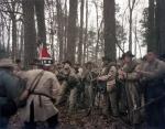 Confederate reenactors prepare to attack in Bentonville, NC 2015