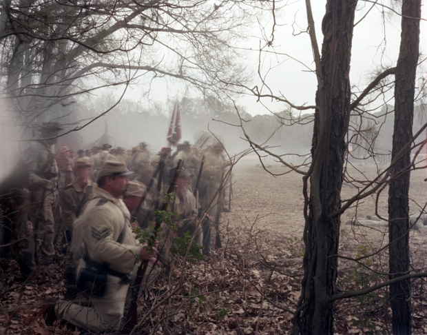 Confederates engage Sherman's troops at Bentonville 2015