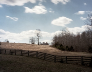 Fence along the old Lynchburg Stage Road at Appomattox, Va 2015