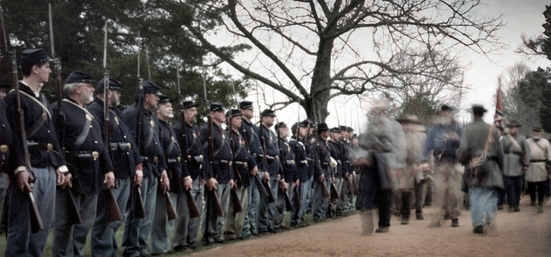 Confederates capitulate at Appomattox, Virginia 2015