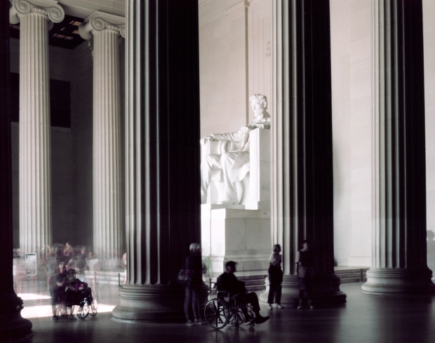 Lincoln's Memorial in Washington, DC 2015