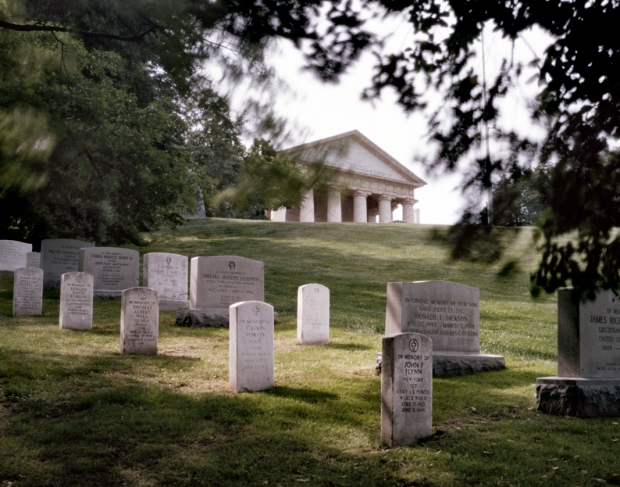 Before the Civil War Arlington House was the ancestral home of Mary Curtis Lee wife of Gen. Robert E. Lee. The plantation was occupied by the Federal Government during the Civil War the property later becoming Arlington National Cemetery