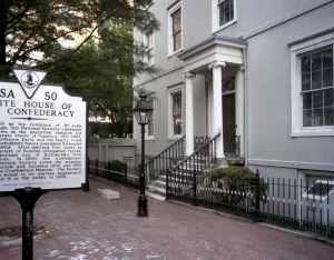 The Confederate White House in Richmond, Va