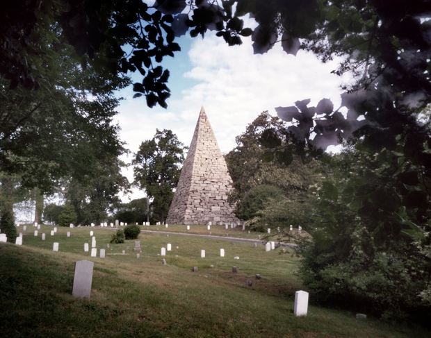 Memorial to the Confederate war dead at Hollywood Cemetery in Richmond, Virginia 2015