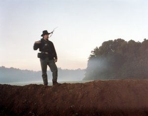 Union soldier near Richmond 2014