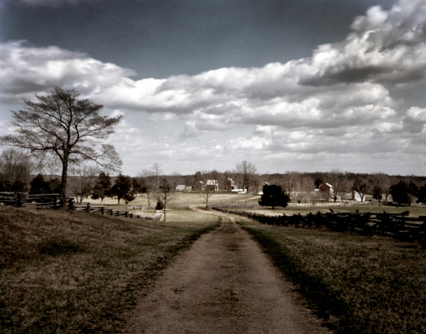 The old Lynchburg Stage Road still leads to Appomattox Court House - 2015