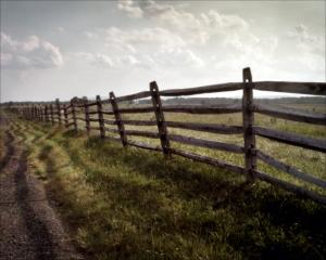 Emmittsburg Road at Gettysburg, PA 2013