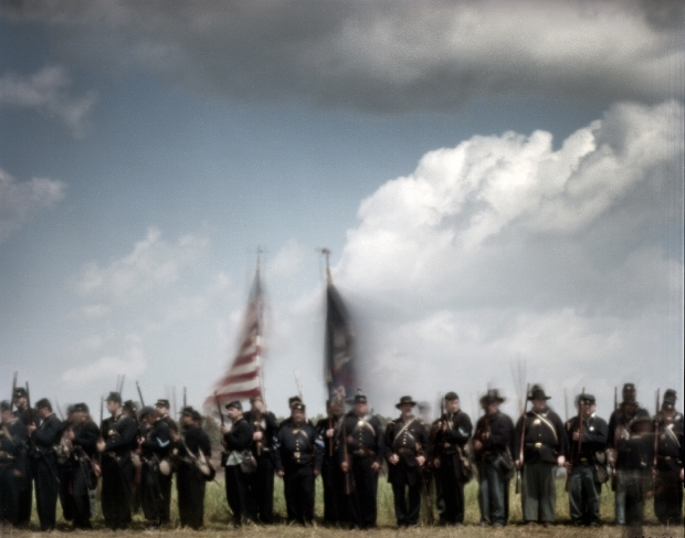 Union reenactors at the 150th anniversary of the Battle of Shiloh in 2012